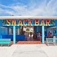 Snack Bar im klassischen Style