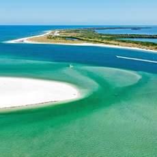 Blick auf Caladesi Island