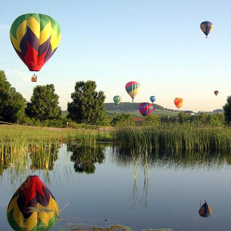 Great Galena Balloon Race in Galena