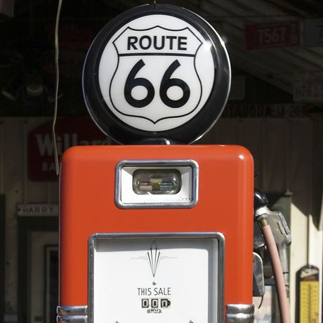 Route 66 Tankstelle, Illinois