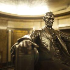 Das Grab von Abraham Lincoln, Springfield, Illinois