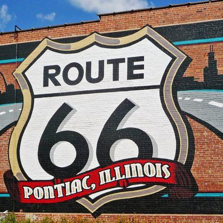 Pontiac an der Route 66