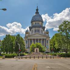 Das State Capitol in Springfield