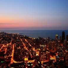 Chicago, Luftaufnahme