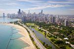 Chicago aus der Luft