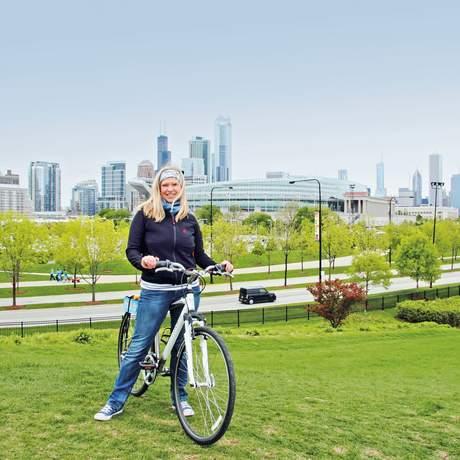 Mit dem Rad in Chicago unterwegs