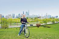 Mit dem Fahrrad in Chicago unterwegs