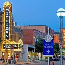 Abendstimmung in Ann Arbor
