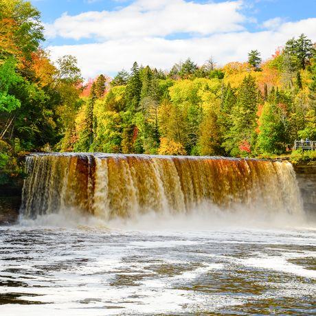 Die Tahquamenon Falls in Michigan