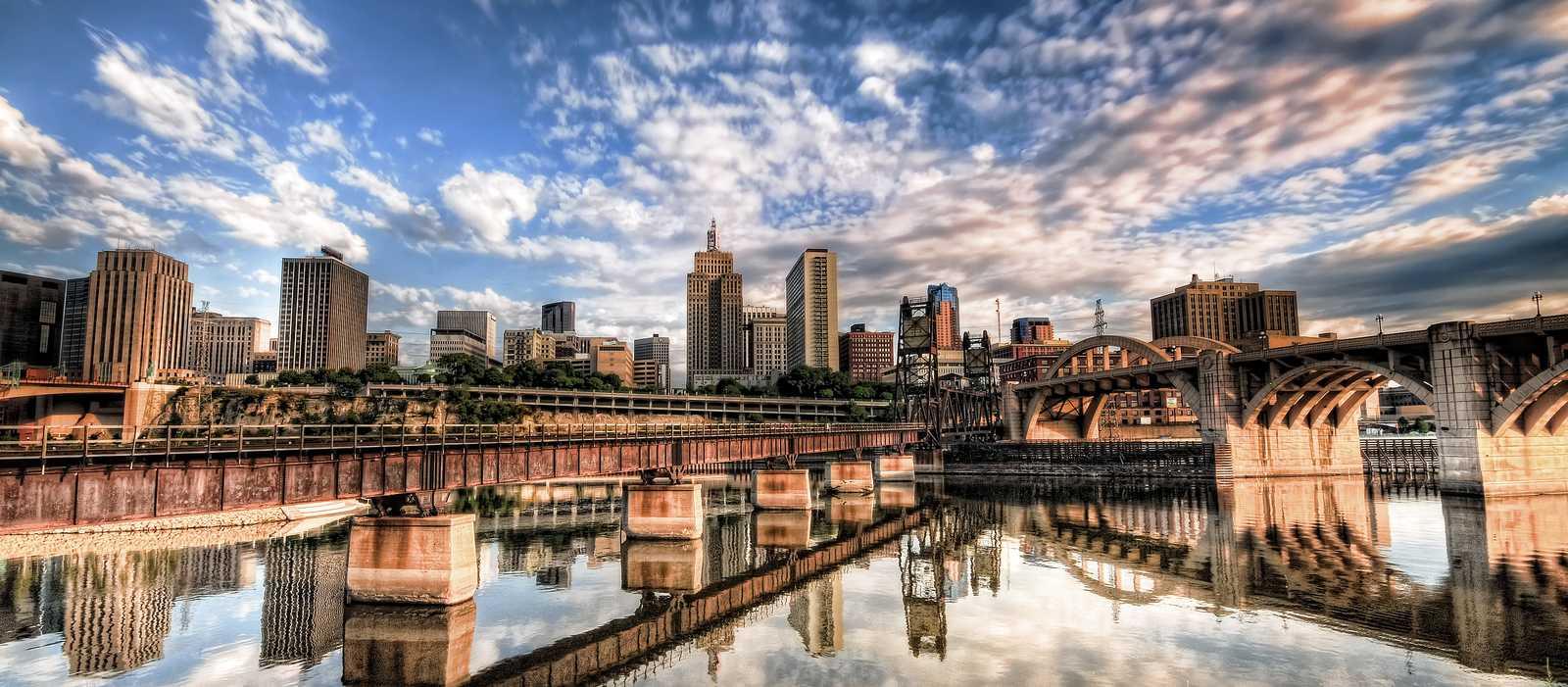 Skyline von St. Paul, Minnesota