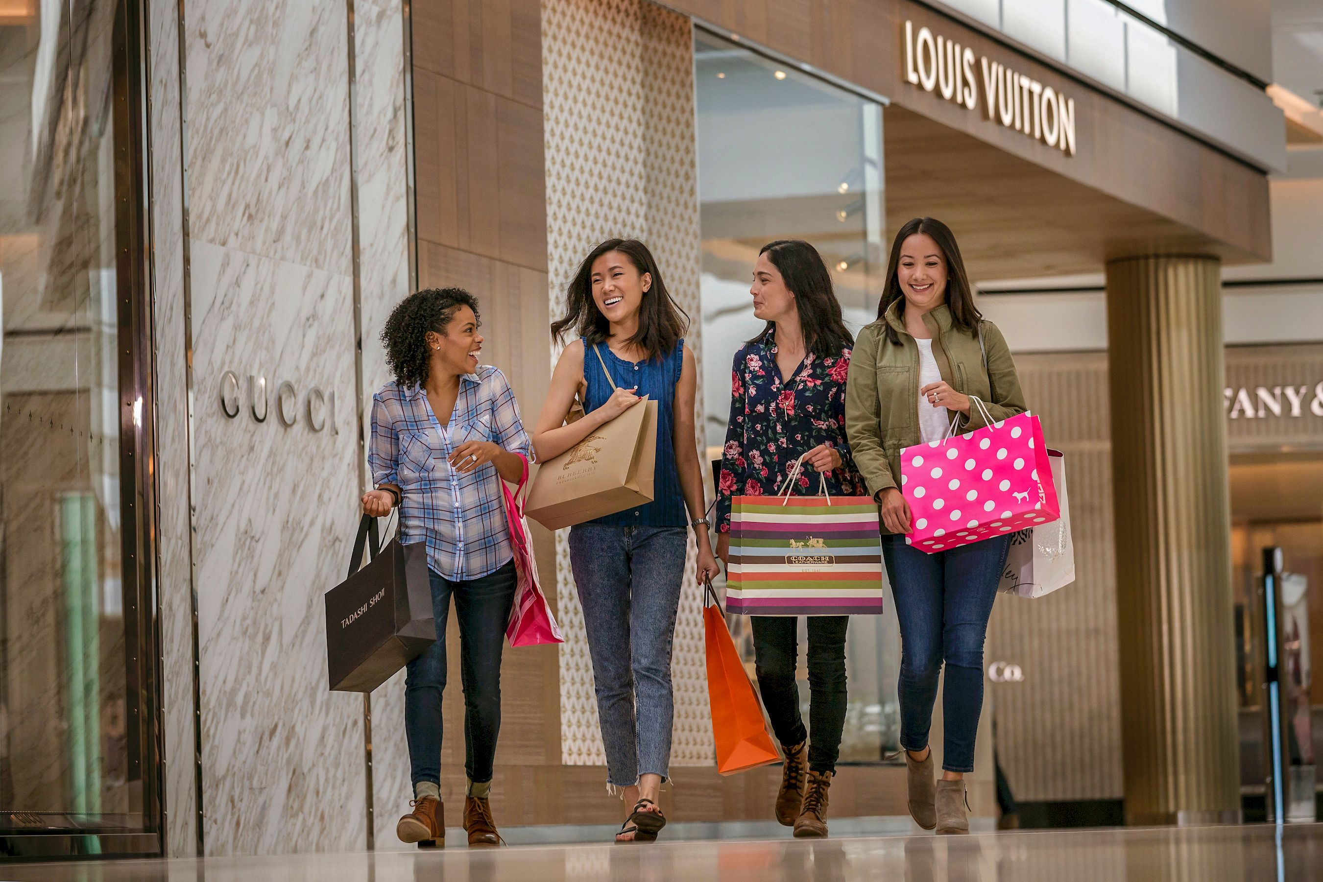 Shoppen in der King of Prussia Mall