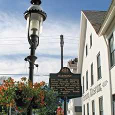 Das Museum in Harmony im Butler County, Pennsylvania