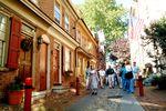 Das historische Museum Elfreths Alley in Philadelphia
