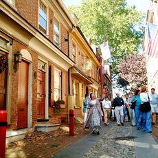 Elfreth´s Alley, Philadelphia