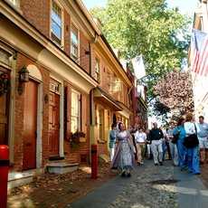 Elfreth's Alley - Eine Führung durch die ältesten Straßen Philadelphias