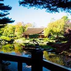 Japanischer Garten im Fairmount Park, Philadelphia