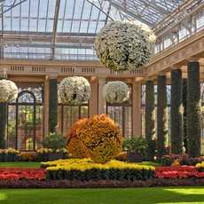 Longwood Gardens - Ein Botanischer Garten in Kennett Square ca. fünfzig Kilometer westlich von Philadelphia