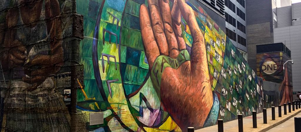 Ein Mural Art