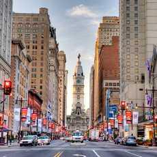 Die Avenue of the Arts in Philadelphia