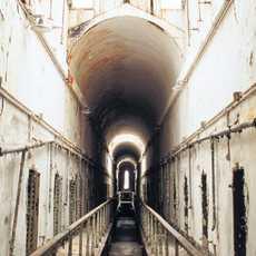 Die ehemalige Strafanstalt Eastern State Penitentiary in Philadelphia