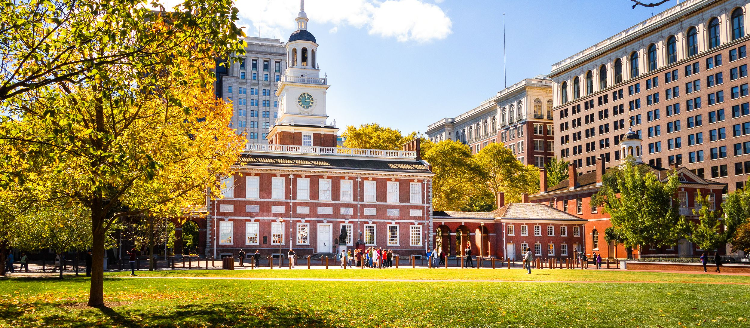 Die Independence Hall in Philadelphia
