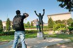 Die Rocky Statue in Philadelphia