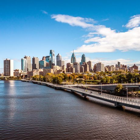 Skyline von Philadelphia, Pennsylvania