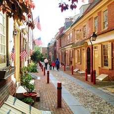 Elfreths Alley in Philadelphia