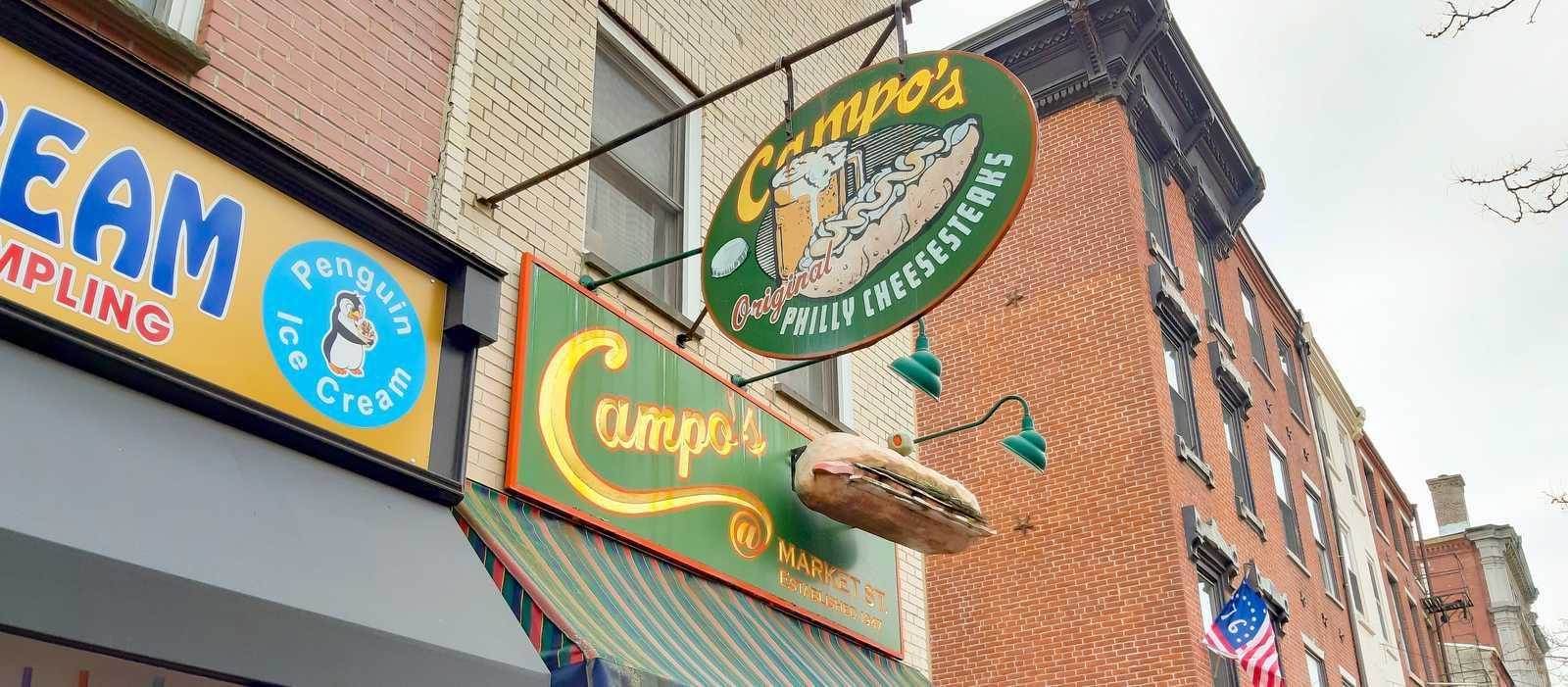Campo's Philly Cheesesteaks von außen