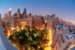 Der Rittenhouse Square in Philadelphia