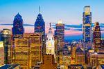 Die schöne Skyline Philadelphia