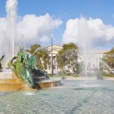 Swann Fountain in Philadelphia