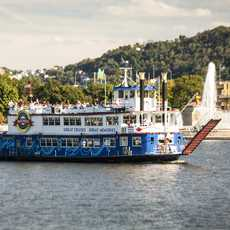 Unterwegs mit dem Gateway Clipper Fleet in Pittsburgh