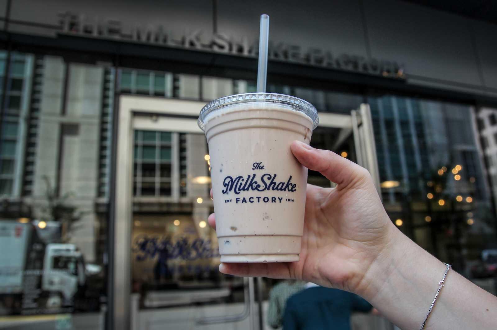 Ein Milchshake aus der Milkshake Factory in Pittsburgh