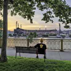 Den Ausblick genießen in Pittsburgh