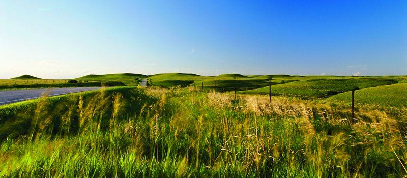 Flint Hills in Kansas/Oklahoma
