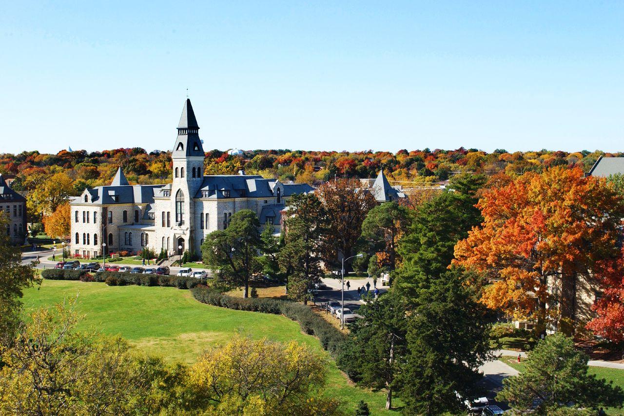 Kansas University in Lawrence; Kansas