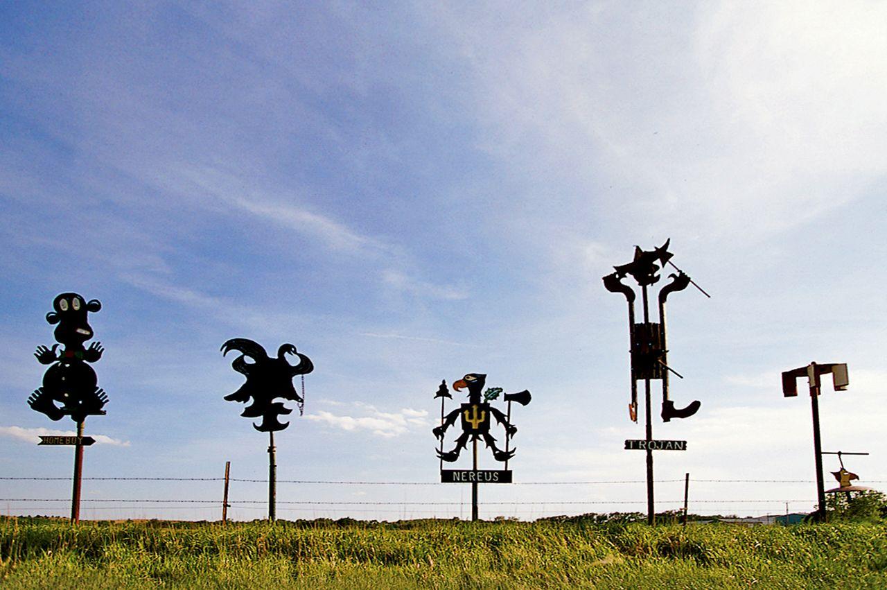 Lucas Sculptures in Lucas, Kansas