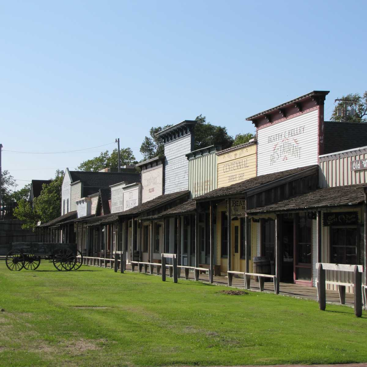 Boot Hill Museum in Dodge City, Kansas