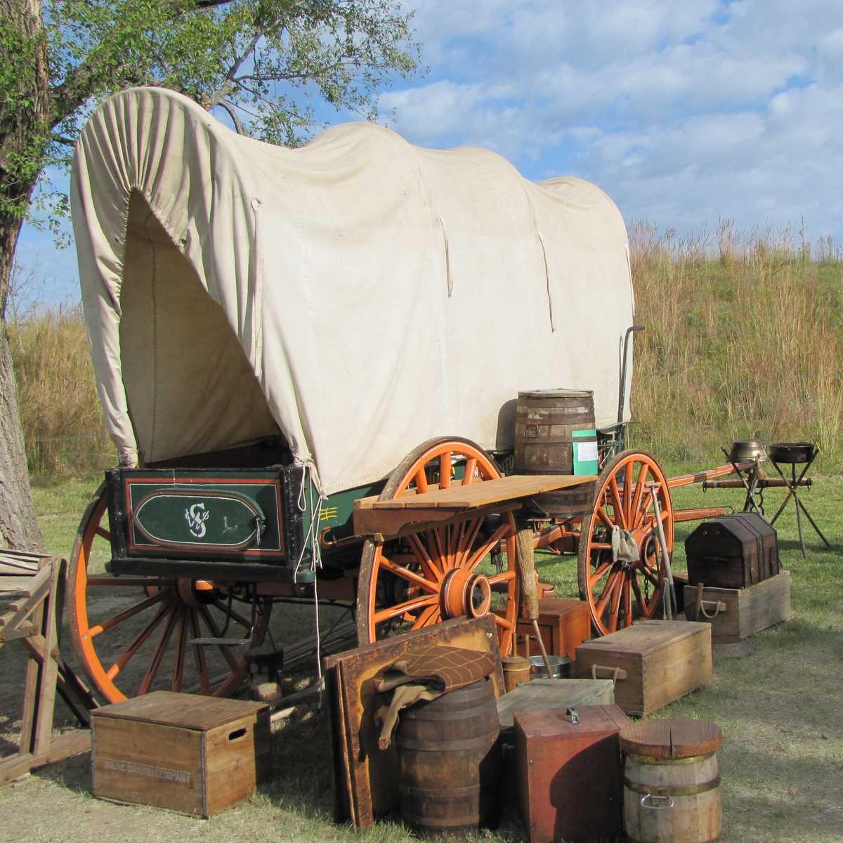 Pioniere in Kansas und Oklahoma