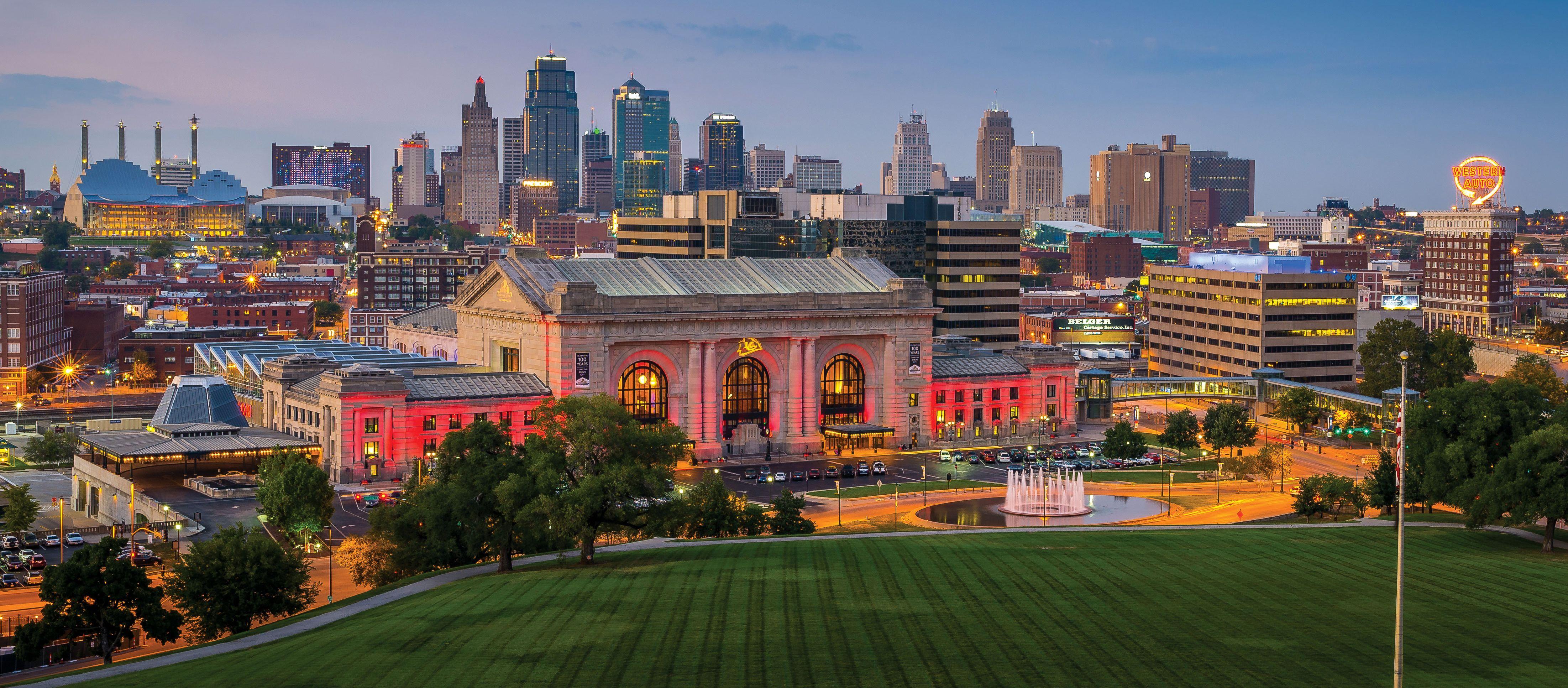 Die Skyline von Kansas City
