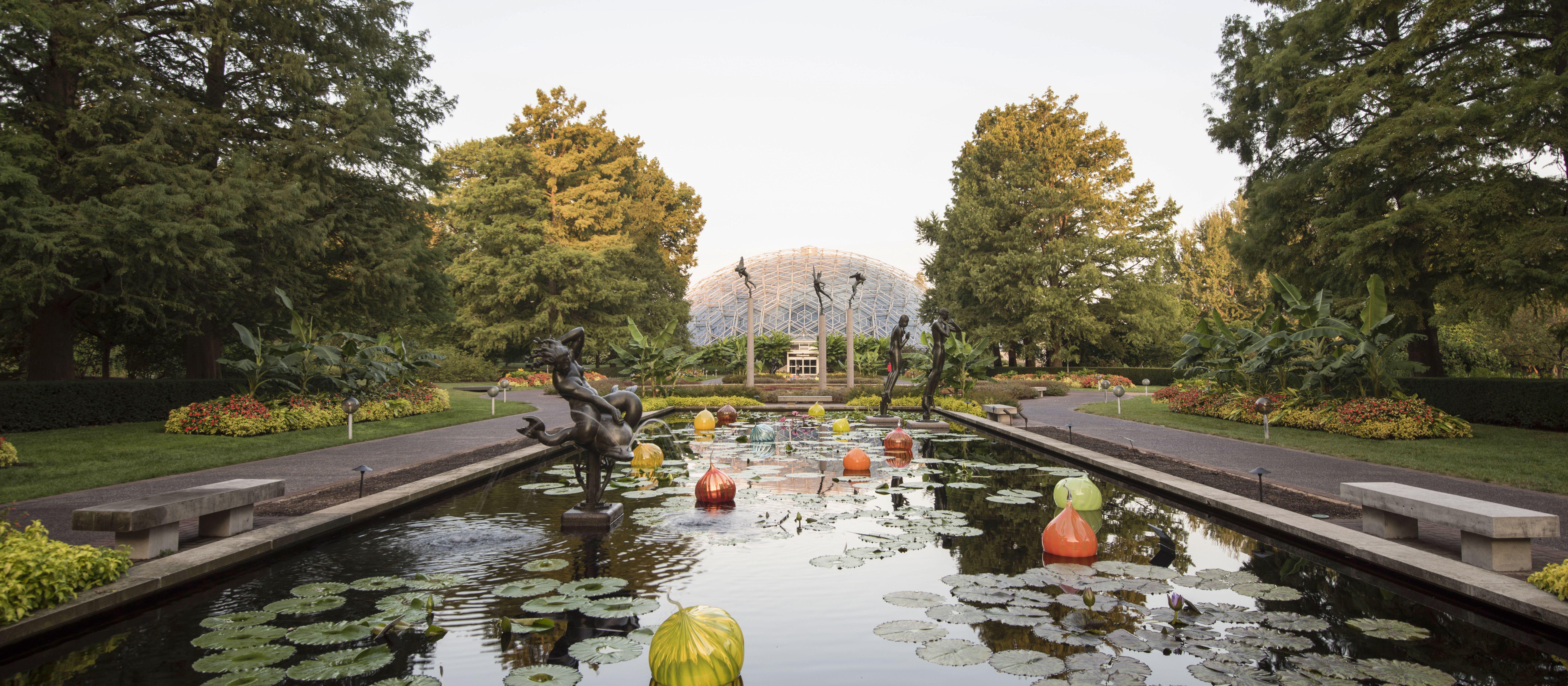Der Missouri Botanical Garden - einer der größten botanischen Gärten der Welt