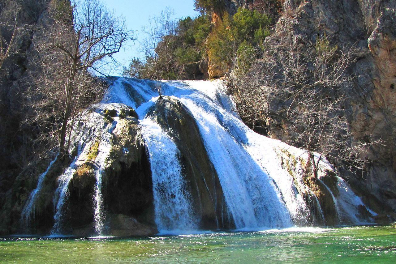 Turner Falls in Sulphur, Oklahoma