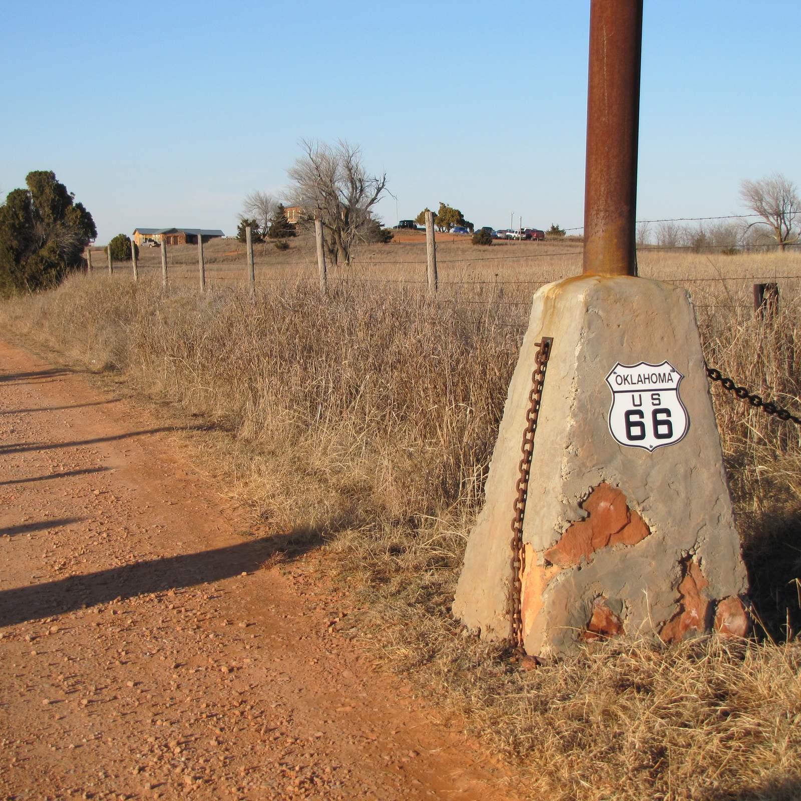Route 66 in Kansas und Oklahoma