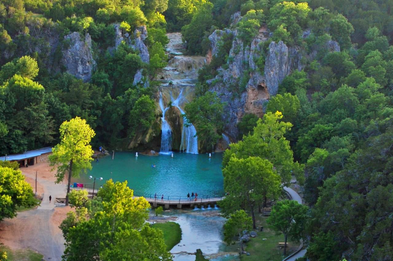 Turner Falls in Davis, Oklahoma