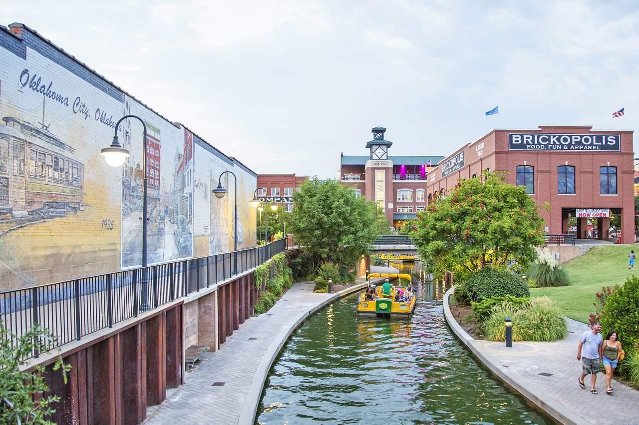 Bricktown Water Taxi in Oklahoma City, Oklahoma