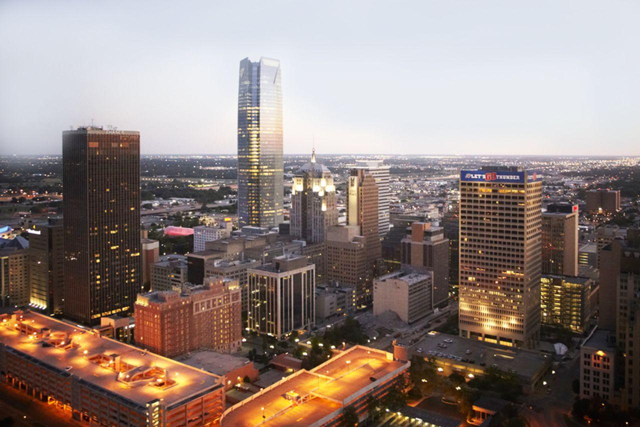 Skyline von Oklahoma City