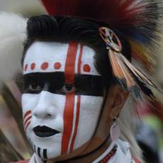 Indianer Pow Wow