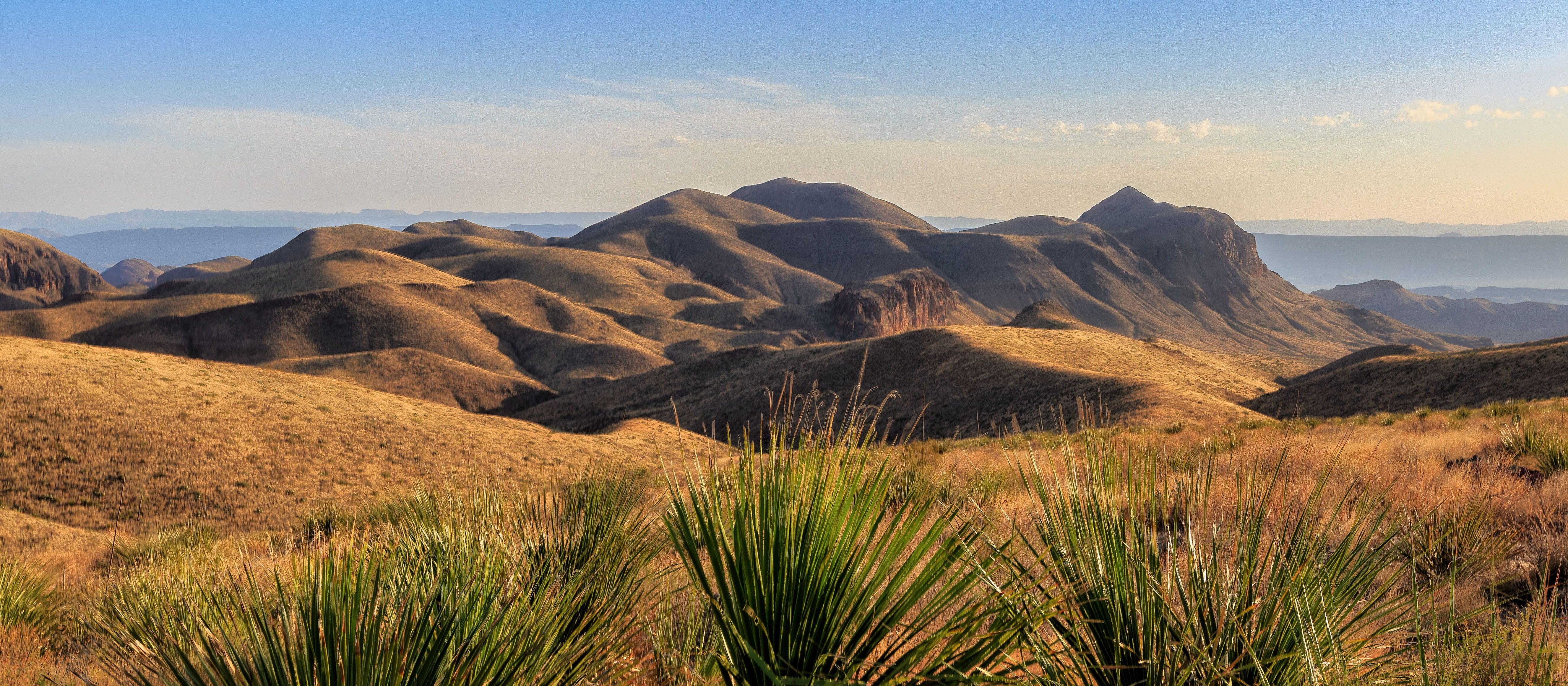 Atemberaubende Landschaft des Big-Bend-Nationalparks in Texas