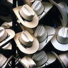 Cowboyhüte in Texas